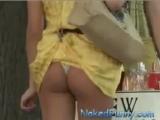La falda sexy!